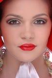 Colseup portrait of beautiful girl Stock Images