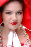 Colseup Portrait des schönen Mädchens Stockfotos