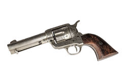 Colt.45 Isolated Royalty Free Stock Images