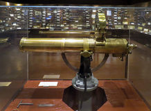 Colt Gatlin Gun - Woolaroc-Museum Lizenzfreie Stockfotos