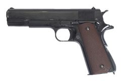Colt government m1911 Royalty Free Stock Photo