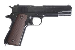 Colt government m1911 Royalty Free Stock Photography