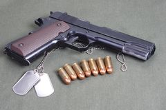 Colt Government M1911 Stock Images