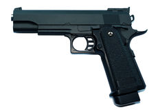 Colt M1911 hi capa 5.1 k pistol - metal airsoft replica Stock Photos
