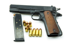Colt Mark IV Delta Elite series80 government m1911 Royalty Free Stock Image