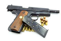 Colt Mark IV Delta Elite series80 government m1911 Royalty Free Stock Photography