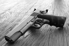 colt 45 Pistole der Reihe 80 Lizenzfreies Stockbild