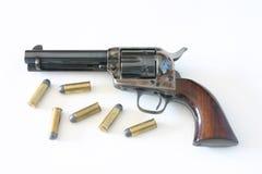 colt 45 pistolet, conciliateur Photographie stock libre de droits