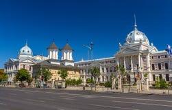 Coltea医院在Bucarest 库存图片