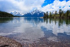 Colter Bay Stock Image