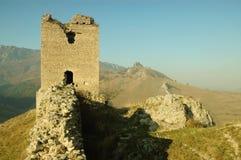 Coltesti Festung, Transylvanien, Rumänien lizenzfreie stockfotografie