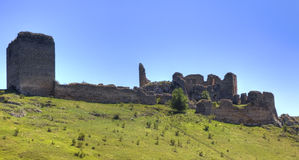 Coltesti fortress Stock Photos