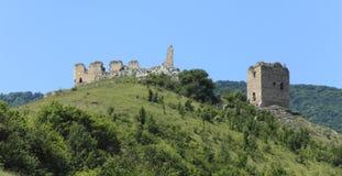 Coltesti fortress Stock Image