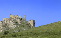 Coltesti fortress Royalty Free Stock Photography