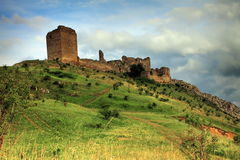 Coltesti fortress Stock Image