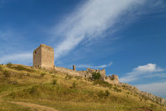 Coltesti fortress. Ruins in Trascau mountains, Romania Stock Image