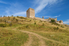 Coltesti fortress. Ruins in Trascau mountains, Romania Royalty Free Stock Image