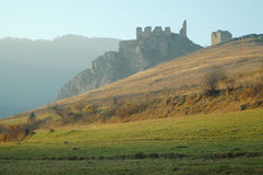 Coltesti fortress, Transylvania, Romania Royalty Free Stock Photography