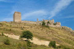 Coltesti fortress. In Trascau mountains, Romania Royalty Free Stock Images