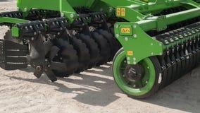 Coltivatore agricolo, attrezzatura dell'azienda agricola Immagine Stock