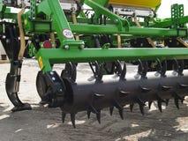 Coltivatore agricolo, attrezzatura dell'azienda agricola Immagini Stock