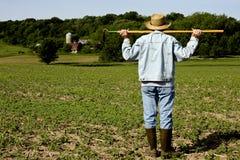 Coltivatore dell'agricoltore Immagine Stock Libera da Diritti
