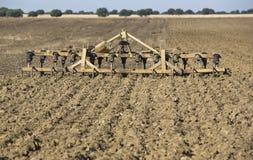 Coltivatore-erpice del Seedbed Fotografie Stock