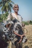 Coltivatore indiano Immagine Stock