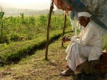 Coltivatore indiano povero Fotografia Stock Libera da Diritti