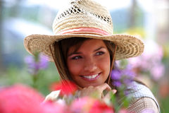 coltivatore vicino in su Fotografia Stock