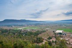 Coltivazione del riso in Tailandia del Nord Fotografia Stock