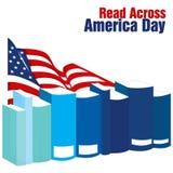 Colto attraverso il giorno dell'America Fotografie Stock Libere da Diritti