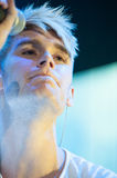 Colton Dixon. Sacramento, CA - July 21: Colton Dixon of American Idol performs in American Idol Live Tour 2012 at Power Balance Pavilion in Sacramento Royalty Free Stock Image