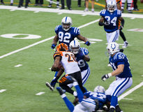 Colts-Bengals football game Stock Photos