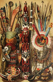 Coltura indiana nordamericana Fotografia Stock