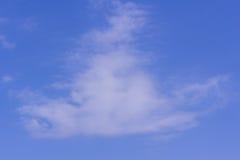 Coluds con cielo blu Fotografia Stock