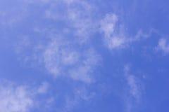 Coluds con cielo blu Immagini Stock Libere da Diritti