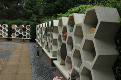 Columbarium Stockfoto