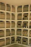 Columbarium Stock Photo