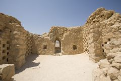 Columbarium chez Masada, Israël Images libres de droits