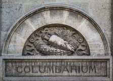 Columbarium in Pere Lachaise cemetery, Paris Stock Photography