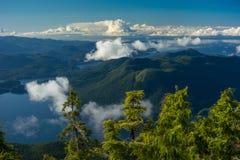 Columbia Británica costera imagenes de archivo