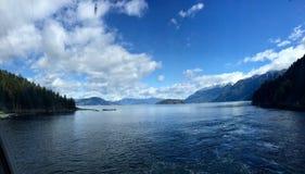Columbia Británica de herradura de la bahía Imágenes de archivo libres de regalías