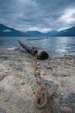 Columbia Británica de Nakusp Imagen de archivo libre de regalías