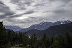 Columbia Británica majestuosa Fotografía de archivo libre de regalías