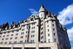 Columbia Británica vieja del edificio de la herencia histórica de Vancouver del hotel Fotografía de archivo libre de regalías