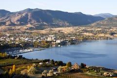 Columbia Britânica Canadá do vale de Penticton Okanagan Fotografia de Stock Royalty Free