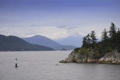 Columbia Britânica do norte Imagem de Stock