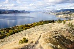 Columbia Britannica Canada della valle di Penticton Okanagan Immagine Stock Libera da Diritti