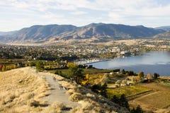 Columbia Britannica Canada della valle di Penticton Okanagan Immagine Stock